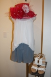 Burning torch tank $145